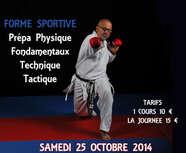 stage pour tous samedi 26 octobre 2014